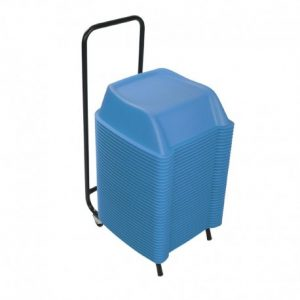 Pack of 36 units of blue theatre booster seats