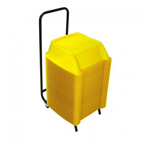 Pack of 36 units of yellow theatre booster seats