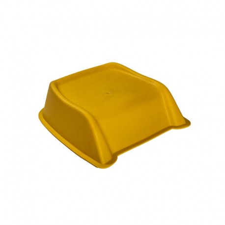 Yellow booster seat